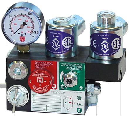 Hydraulik Aufzug Steuerventile - Blain Hydraulics